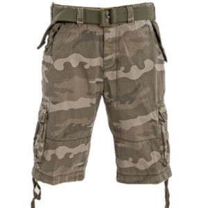 fashionable camo shorts