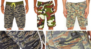 latest trends of mens camo shorts