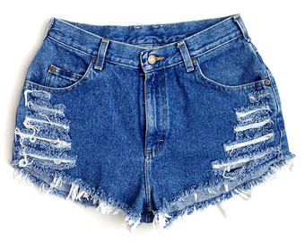 Do-it-yourself Denim Shorts | Camo Shorts