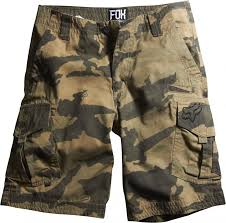 brown camo shorts
