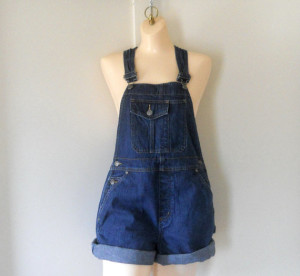 about denim overall shorts for women