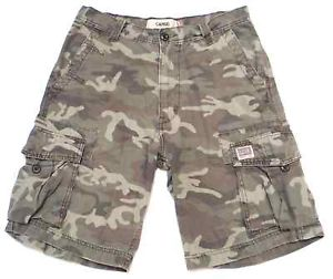 army mens camouflage cargo shorts