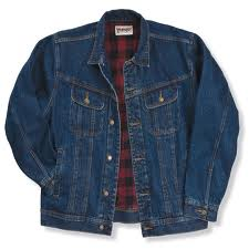 lined blue jean jackets for men