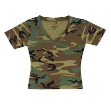 ordinary camouflage t shirts for women