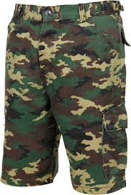 perfect style camo shorts