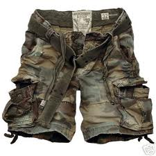 ragged camo shorts