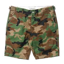 seasonal camo shorts