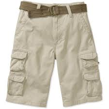 simple boys cargo shorts