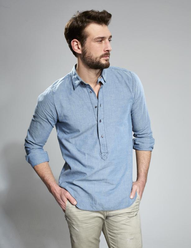 Why buy a denim shirt camo shorts for Buy denim shirts online