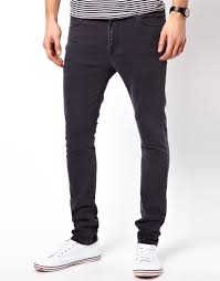 simple mens super skinny jeans