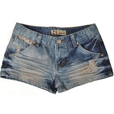 sized denim shorts for women