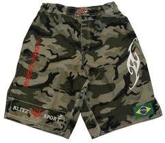 sporty camo shorts