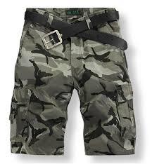 street sport camo shorts