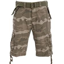 stylish camo shorts