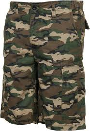 tactical camo shorts