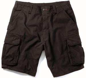 vintage black cargo shorts