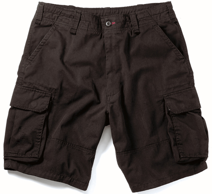 Different Ways To Wear Black Cargo Shorts | Camo Shorts