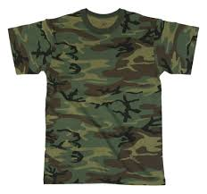 woodland cheap camouflage t shirts
