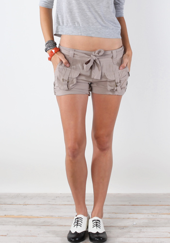 Best Womens Khaki Cargo Shorts