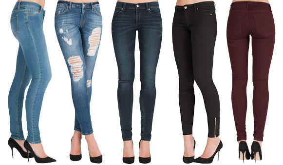 Collection Women Skinny Jeans Pictures - Reikian