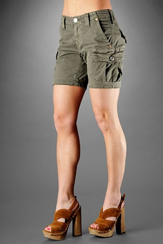 Trendy Womens Cargo Shorts