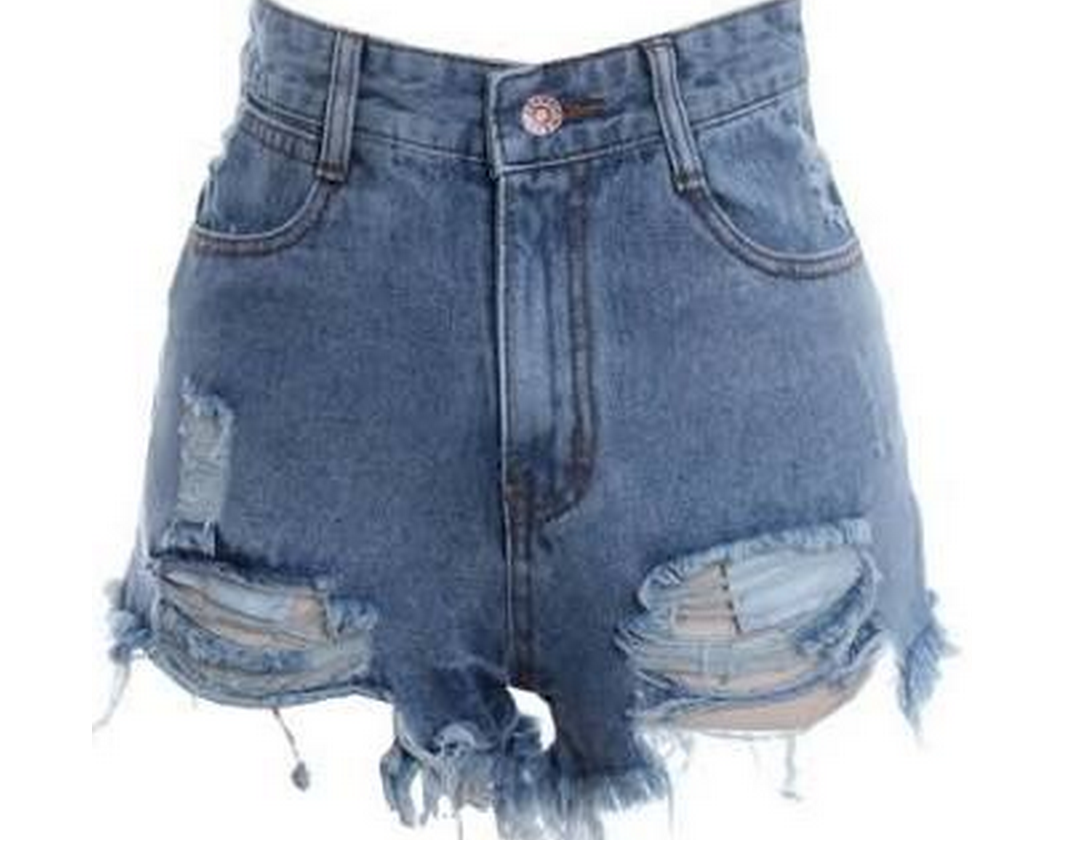 high waisted shorts designs - photo #4