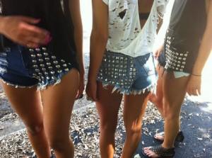 best studded denim shorts reviews