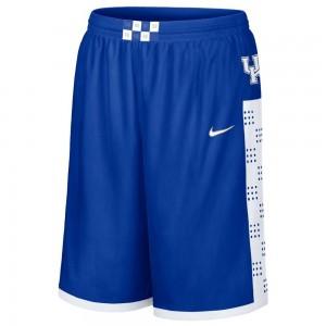 blue Nike basketball shorts
