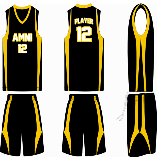 Basketball Uniform Design Yellow | www.imgkid.com - The ...