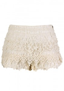 cute white lace shorts reviews