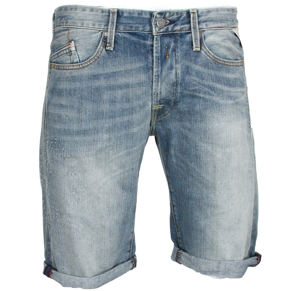 Blue Jean Shorts Mens - The Else